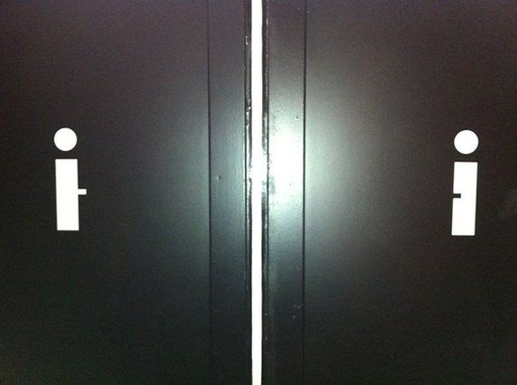 What Are Some Of The Creative Toilet Symbols For Male And Female