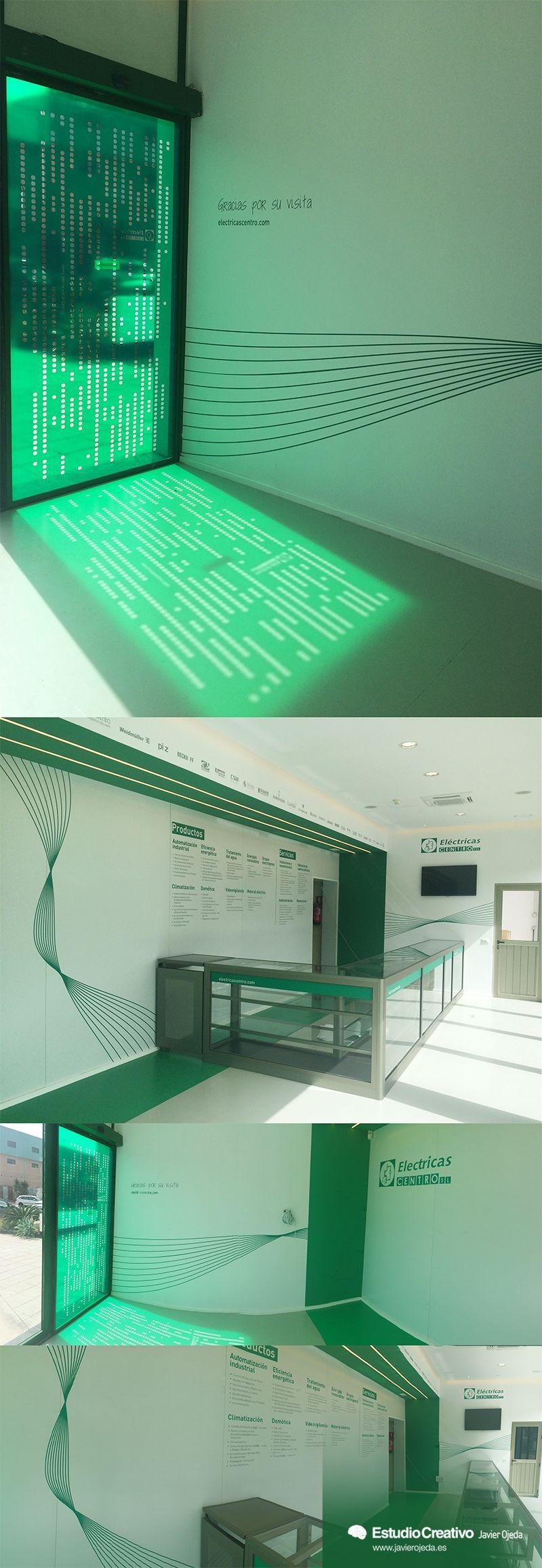 Diseño interior de tienda showroom  #interiordesign #enviromentaldesign