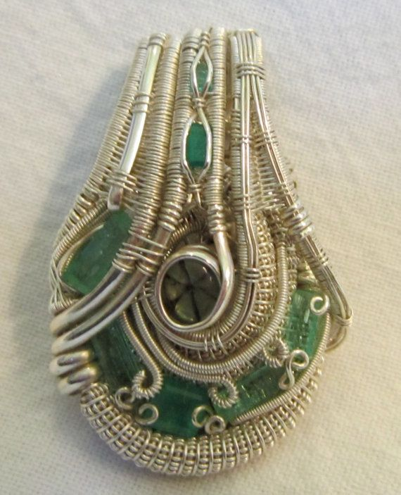 Colombian Emeralds by TendaiDesigns on Etsy, $700.00