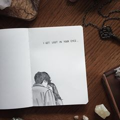 I'm not gonna look away, no I get lost in Your eyes. | @hillsongyoungandfree #inyoureyes | notebook from @notebook_therapy | photo reference was used. please do not repost without credit or tag.