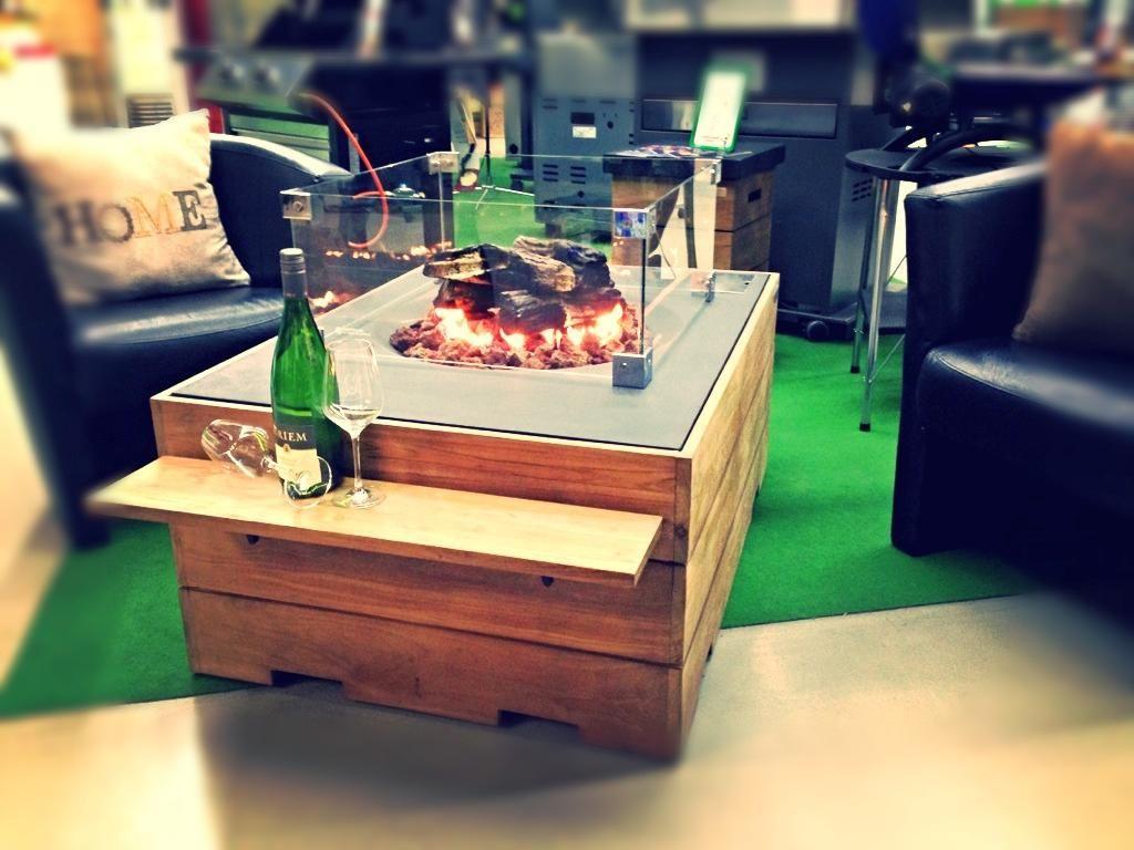 Loungetische mit Feuerstelle bei BonnGas und GasProfi24.de