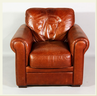 Beau How To Get The Restoration Hardware Look At Kaminski: English Style Leather  Club Chair:
