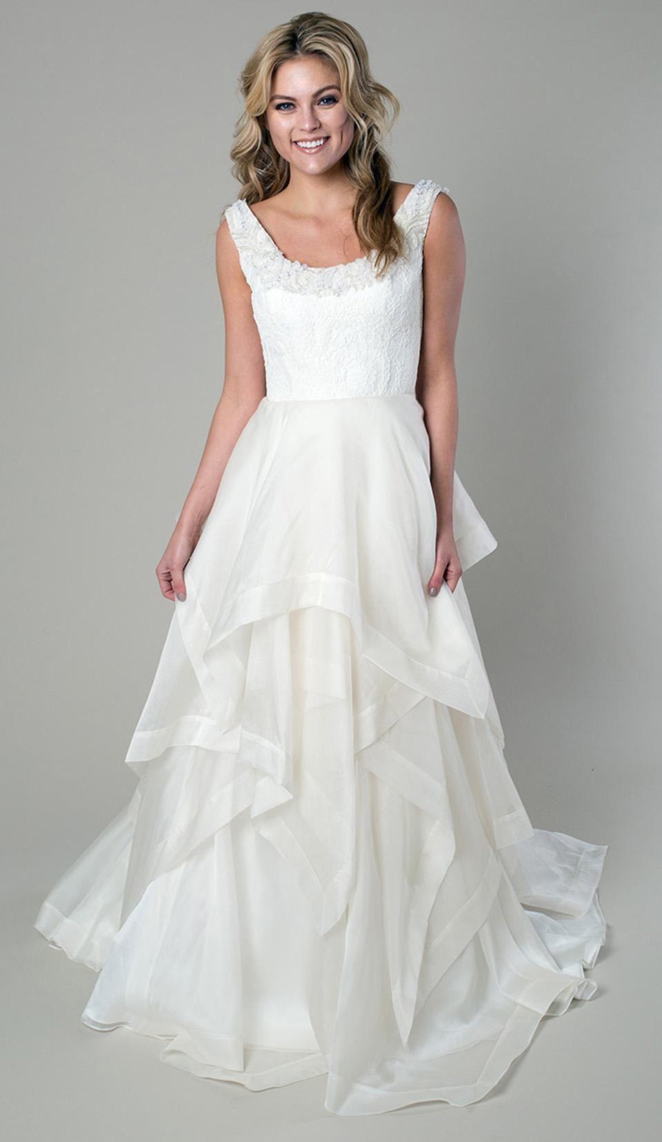 Cheap Vintage Wedding Dress - Discount 2015 Vintage Scoop Neckline ...