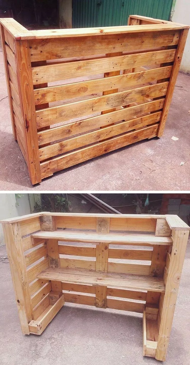 ✔79 diy pallet projects that are easy to make and you can sell 76 #diypalletfurniture