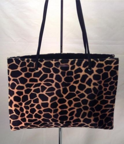 Nine West Handbag Purse Leopard Print