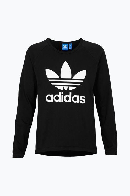 adidas Originals T shirt Trefoil ls tee | Adidas originals