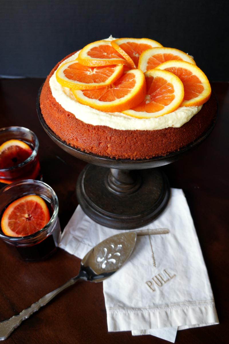 sangria cake | The Baking Fairy
