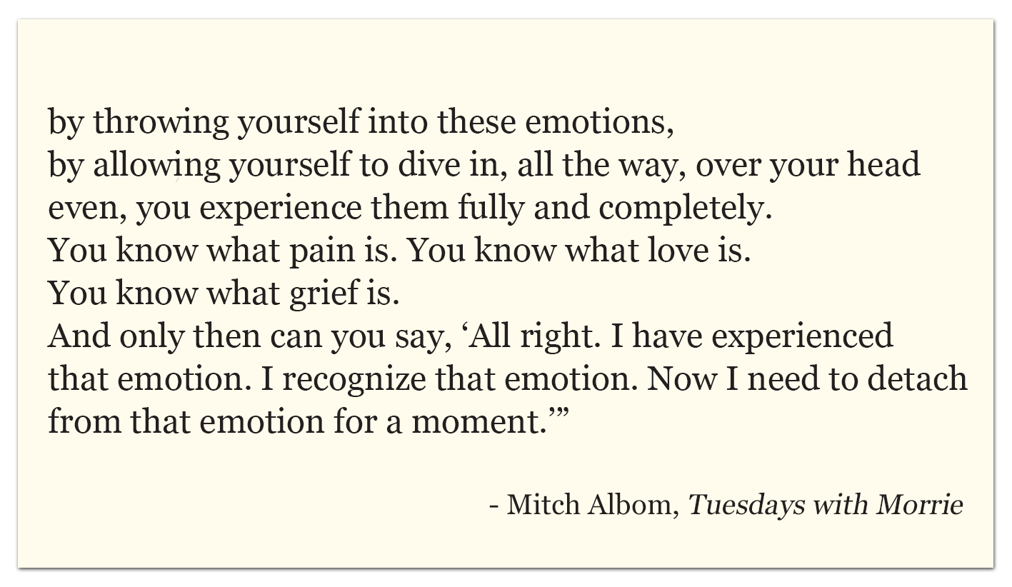 Tuesday With Morrie Quotes Tuesdays With Morrie Quotes Emotions  Tuesday With Morrie Quotes