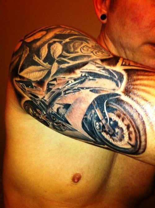 Yamaha R1 tattoo