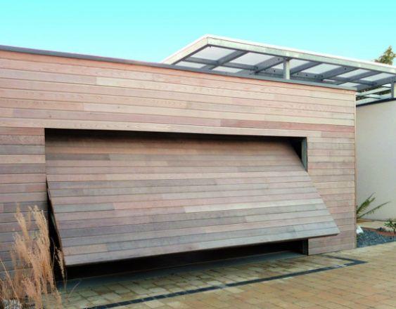 Porte Garage Basculante Enroulable Battante Komilfo Porte Garage Exterieur De Garage Facade Maison