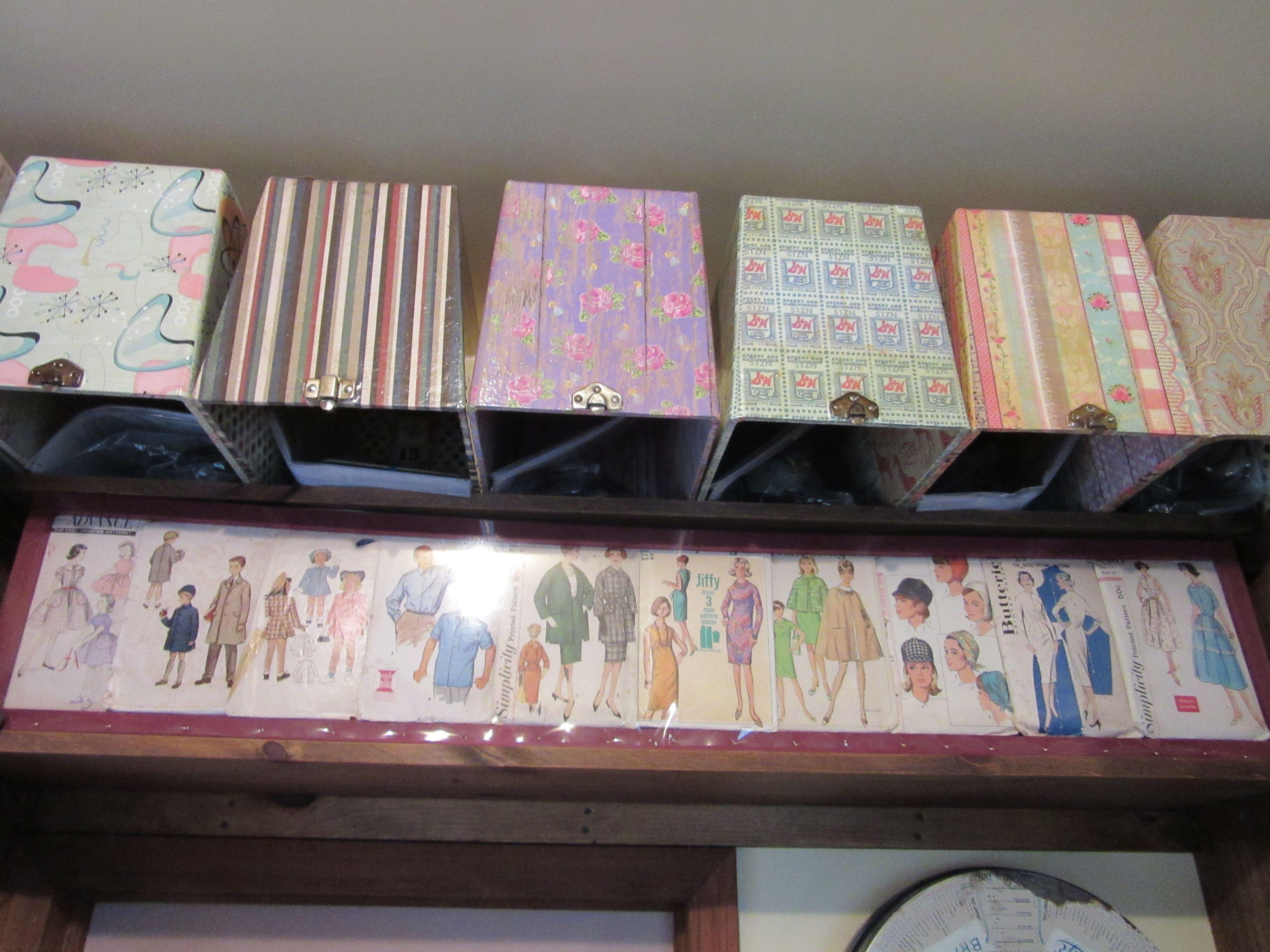Sewing Pattern Storage Best Inspiration Ideas