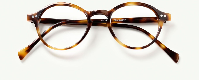 35dbfb6e3ec Beaumont Glasses in Brandy Tortoise