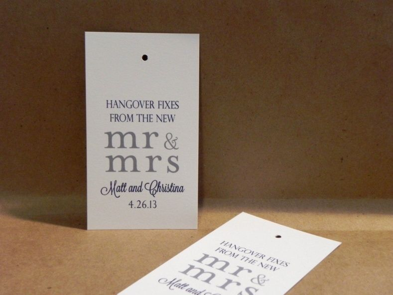 Funny Wedding Favor Sayings