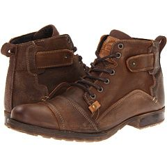c84571ce97fd0b Type Z Harvey, $129.00 Mens Brogue Boots, Mens Lace Up Boots, Brown Leather