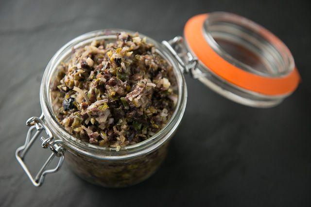 This seaweed tapenade recipe is a great alternative to a more traditional salsa verde. It's a little less sharp, but has more depth - you can add more or less lemon juice