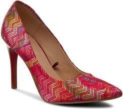 Szpilki Quazi 2342 Czerwony Kolorowy Heels Pumps Shoes