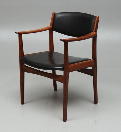 KARMSTOL, Alb. Johansson & söner, Hyssna, 1950/60-tal. Möbler - Fåtöljer & Stolar – Auctionet