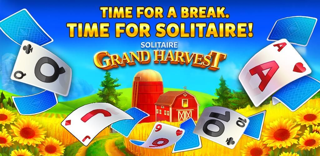 Solitaire grand harvest tripeaks solitaire card game