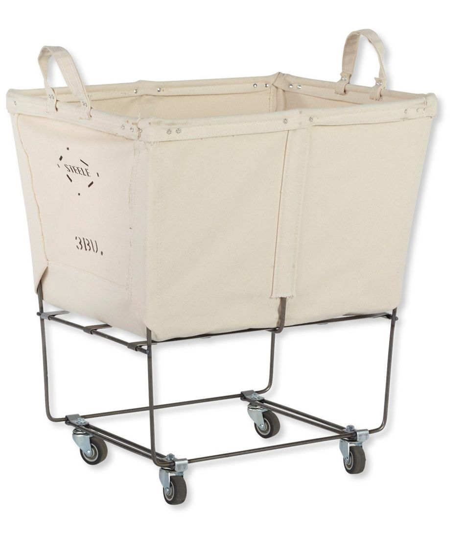 Three Bushel Elevated Cart With Casters In 2020 Rolling Laundry