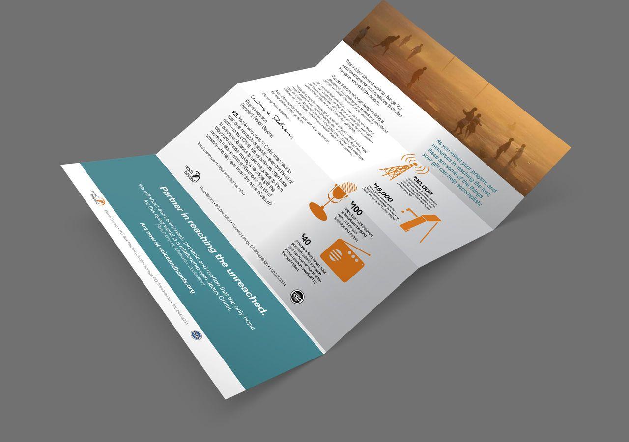Reach Beyond fundraising letter nonprofit marketing materials