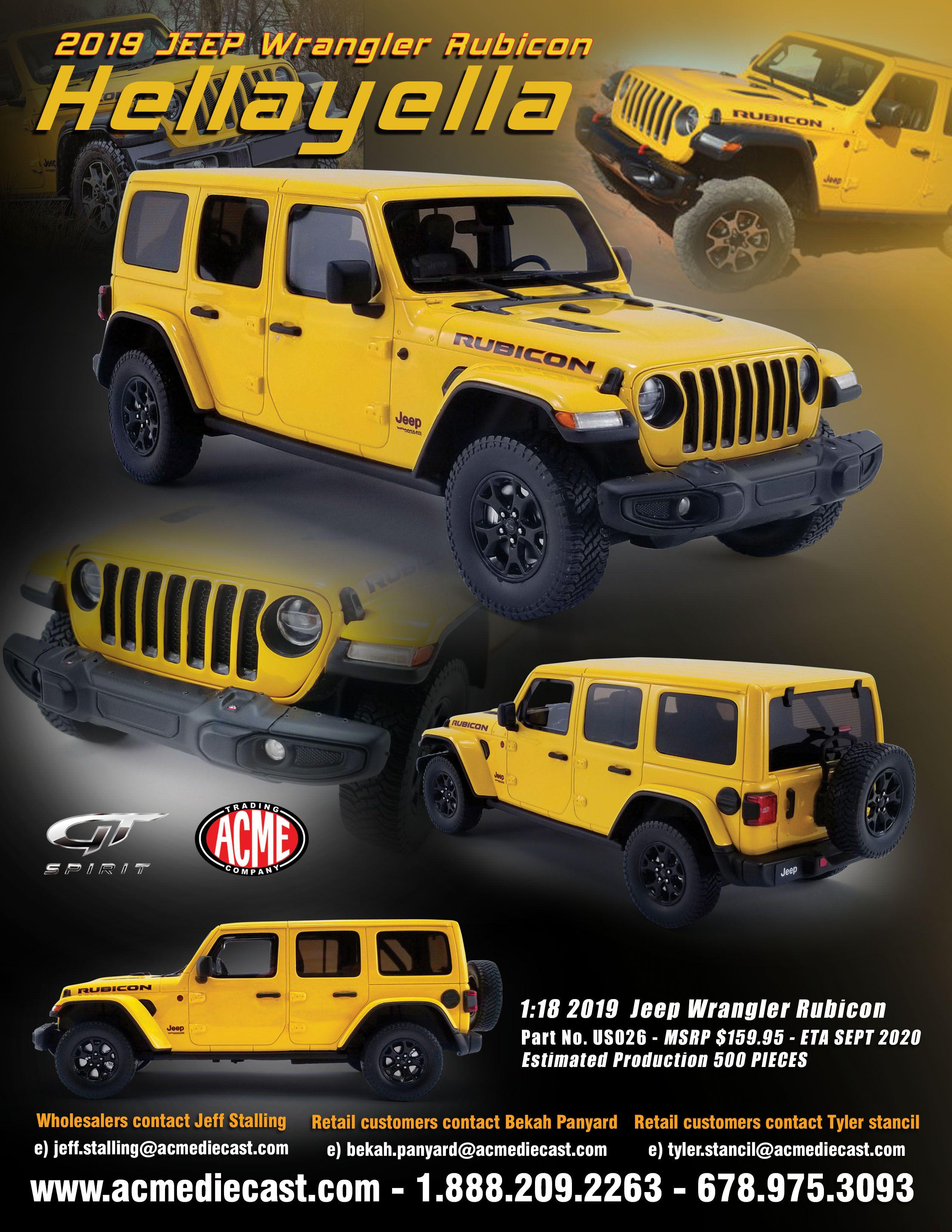 Fastest Jeep Wrangler : fastest, wrangler, Wrangler, Rubicon, HellaYella, Wrangler,, Rubicon,