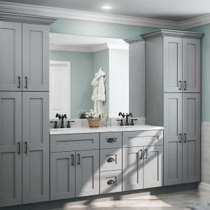 Home Decorators Collection Tremont Assembled 30 in. x 30 in. x 12 in. Wall Kitchen Cabinet with 2 Soft Close Doors in Pearl Gray-W3030-TPG - The Home Depot