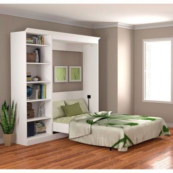 Costco Double Wall Bed With Bonus Cubby White Great For The