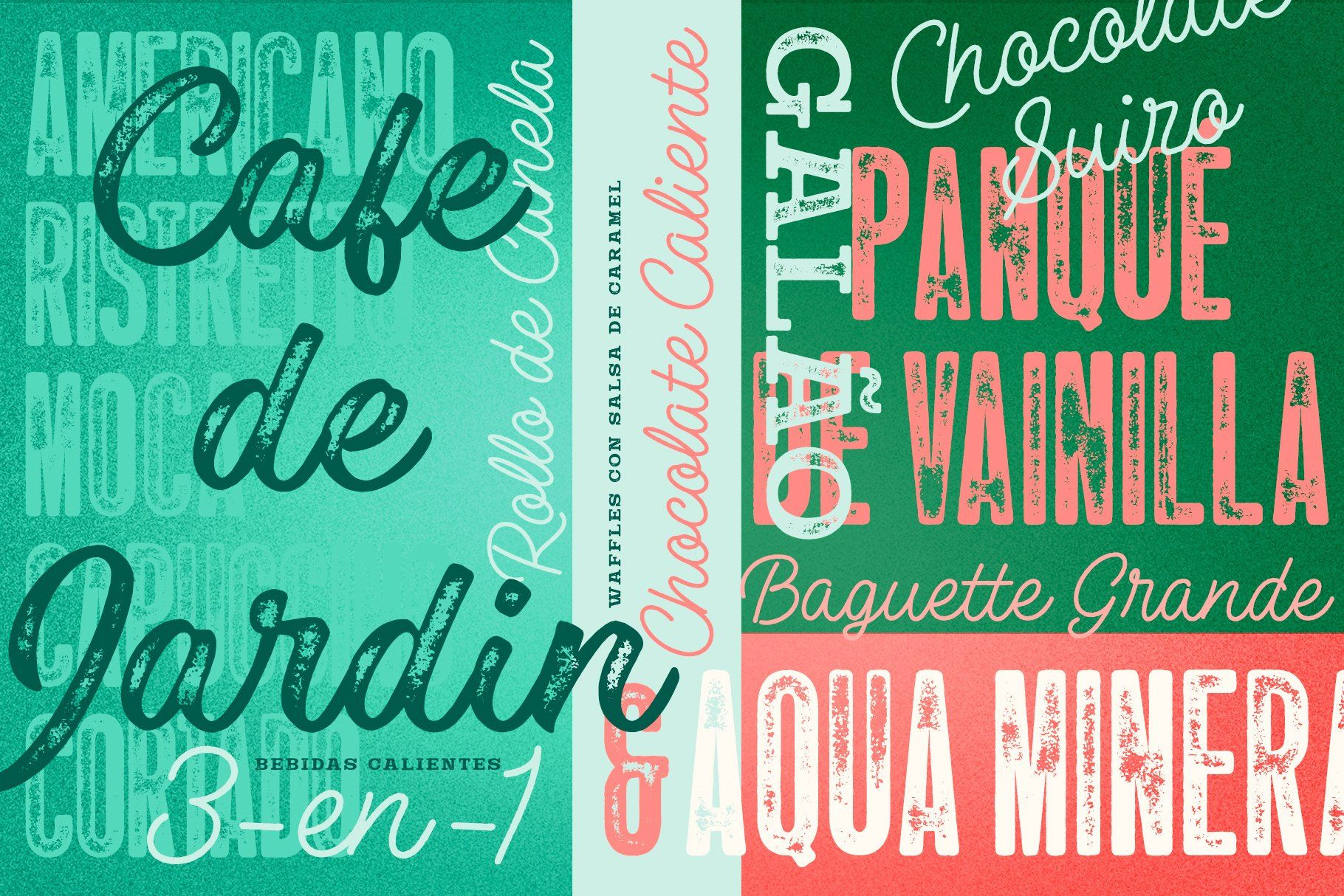 Las Palmas Vintage Font Collection Affiliate Swash Alternates