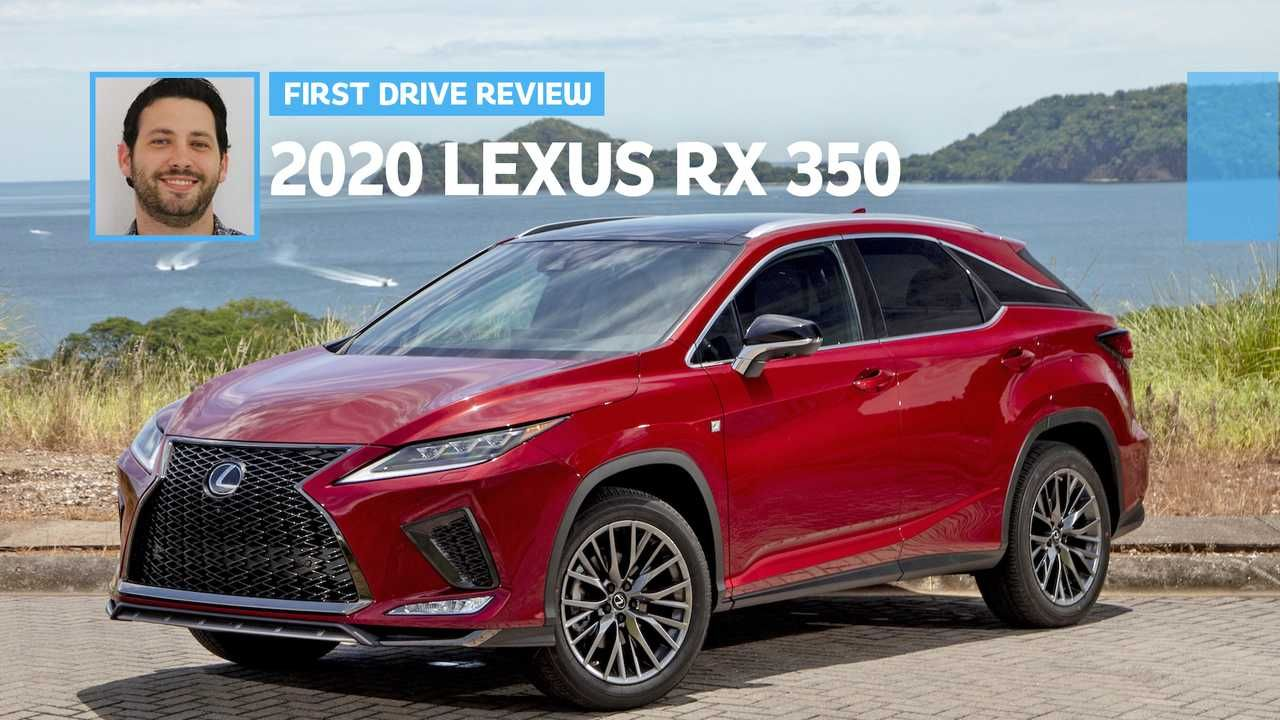2020 Lexus RX 350 First Drive A Better Prescription