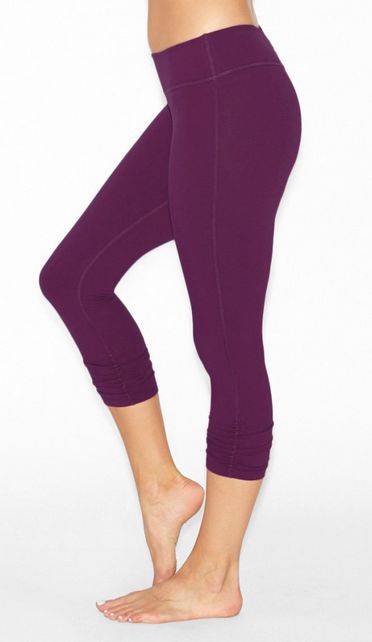 377393a5f6f8c7 Beyond Yoga Essential Gathered Legging in Wild Plum | Yoga Pants |  Activewear | yoga love | fashion | #iamBEYOND