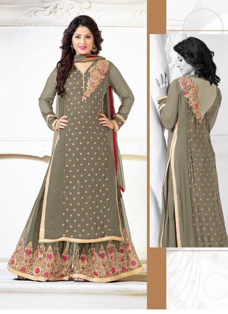 7812078346b Gray Designer Wholesale Long Sleeve Salwar Suits Catalogue  Wholesale   surat  Shop  Bulk  Supplier  Exporter  Indian  USA  UK  Dresses  Online