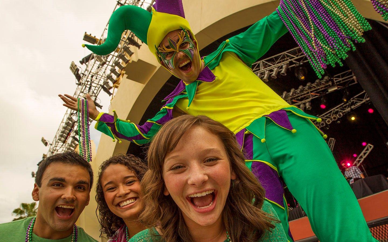 Mardi Gras no Universal