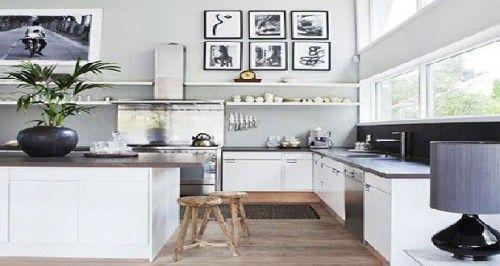 Quelle peinture pour une cuisine blanche ? Studio - peinture blanche pour mur