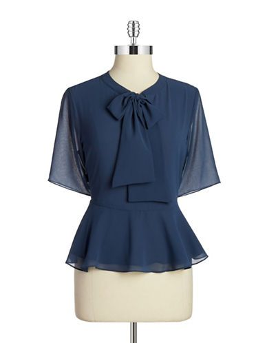 Brands Blouses Self Tie Blouse Lord And Taylor Inspiration