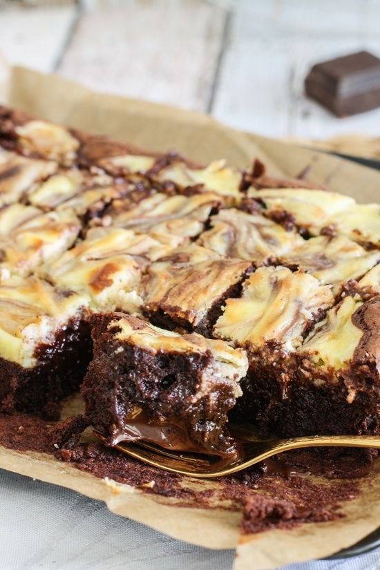 Schokoladenkäsekuchenhäppchen