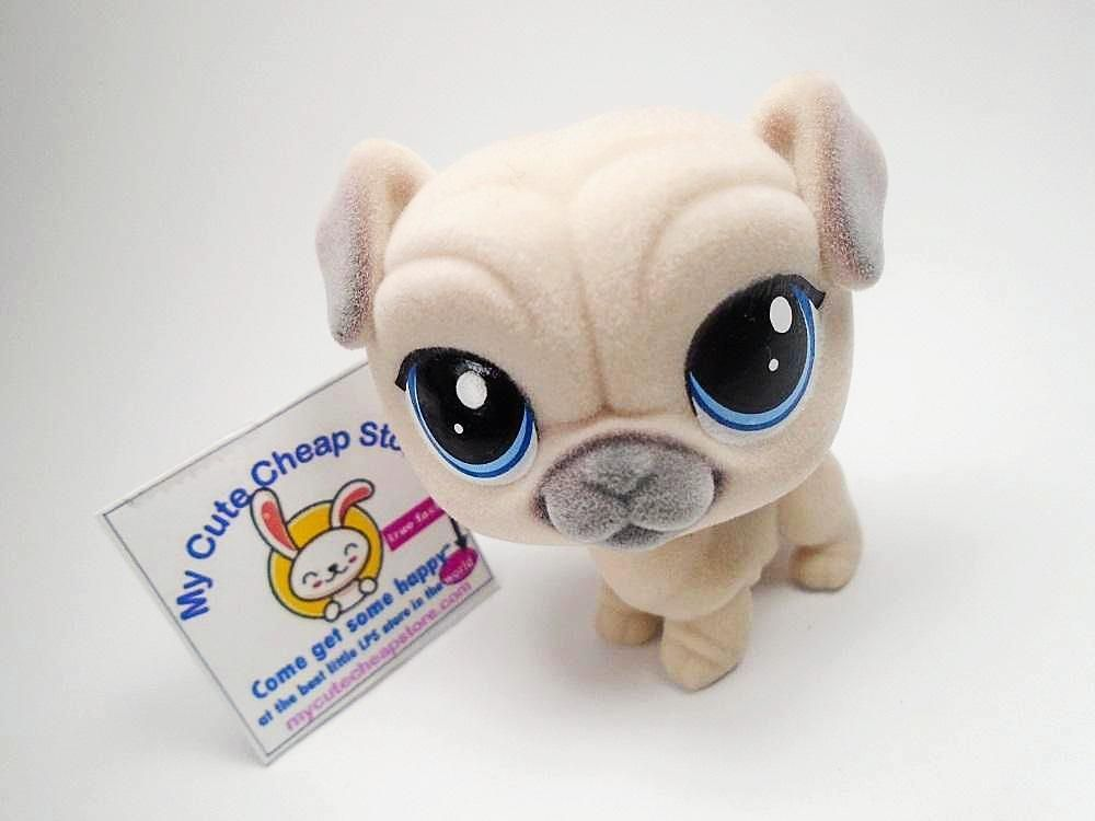 Brand New Perfect Lps Fuzzy Pug 10 00 Happy Animals Pug Puppies Dog Spay