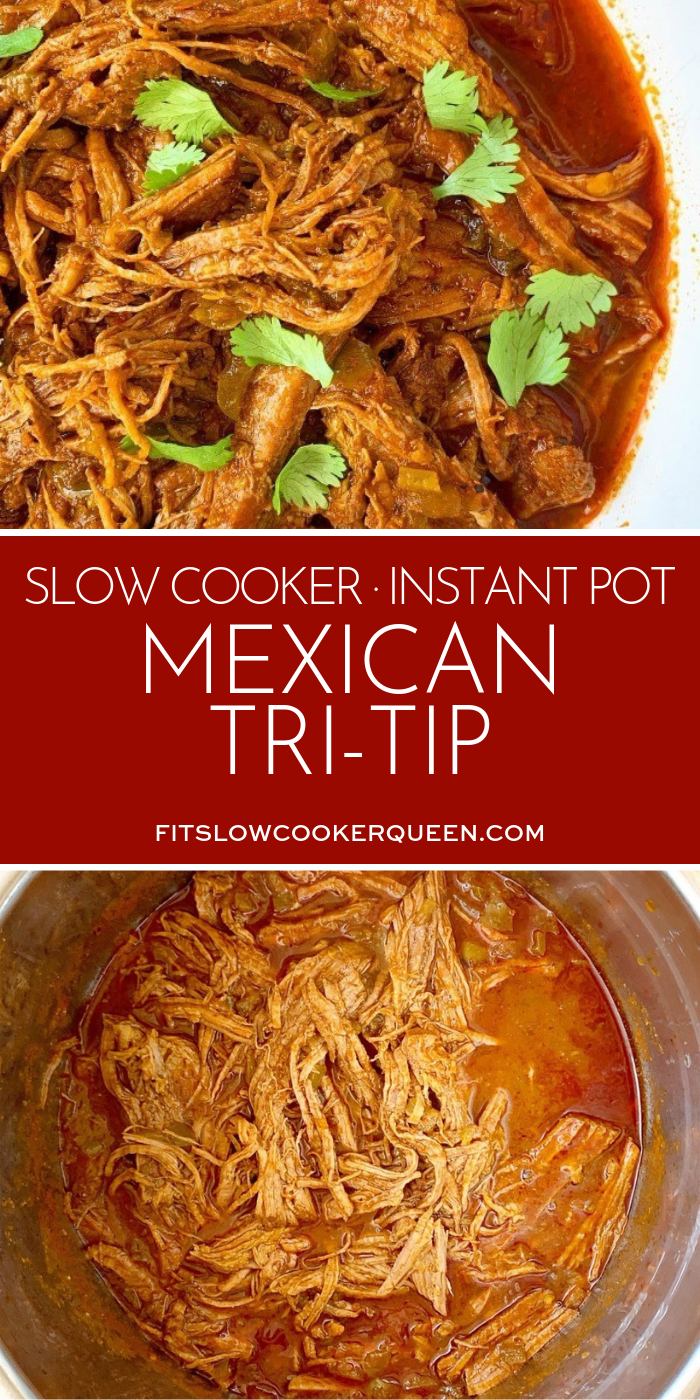 Video Slow Cooker Instant Pot Mexican Tri Tip Low Carb Paleo Whole30 Recipe Pork Tri Tip