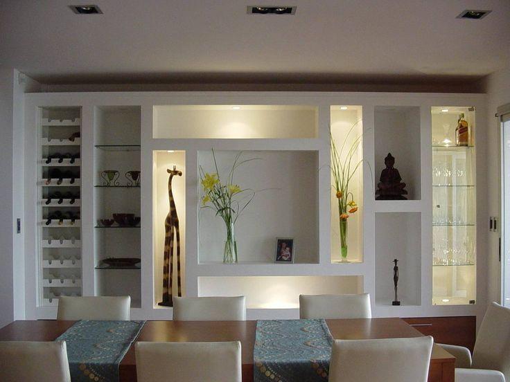 Construimos muebles en drywall para salas dormitorios for Closet modernos para habitaciones