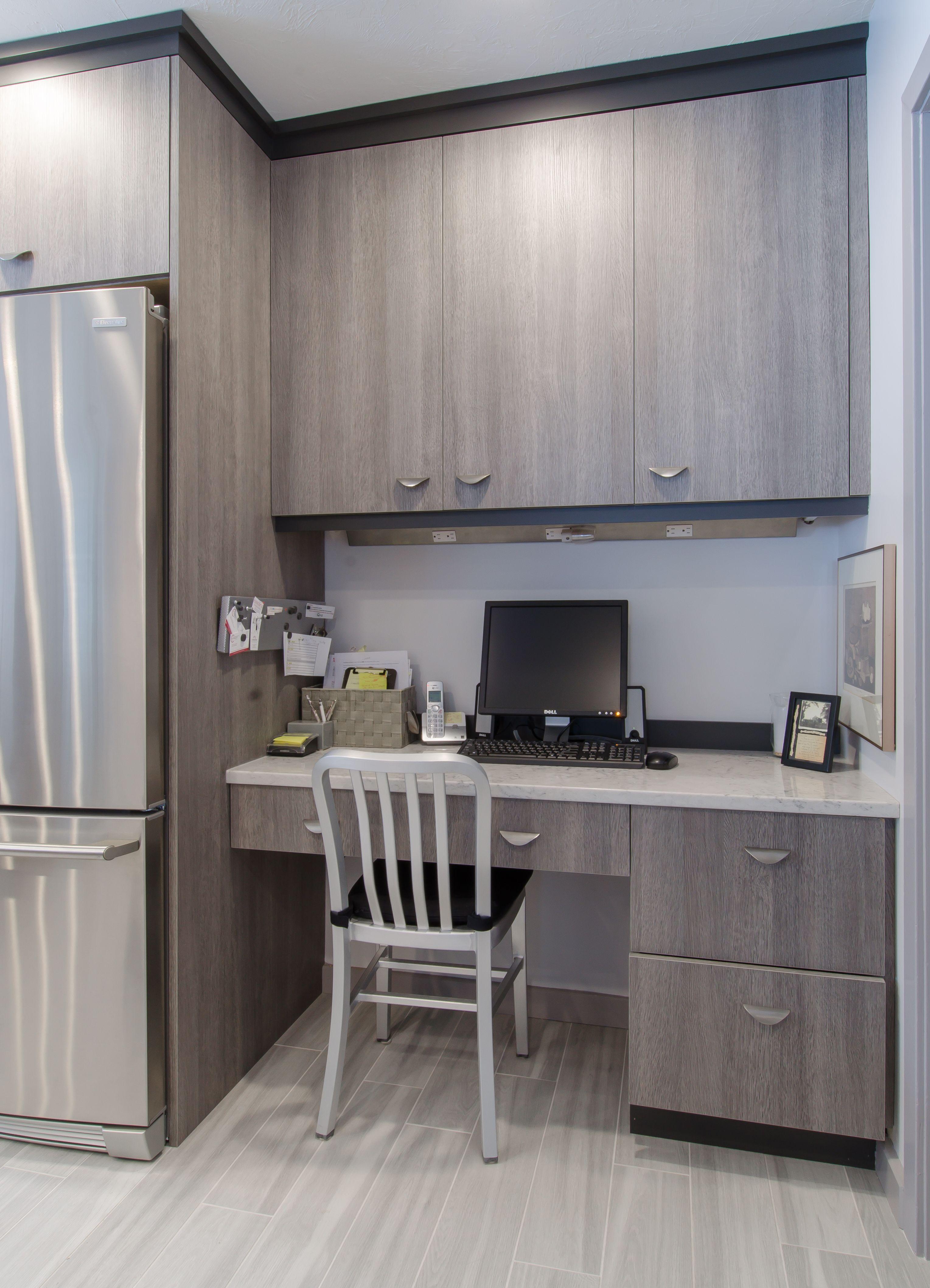 home office built into kitchen wall cabinets for storage on wall cabinets id=96399