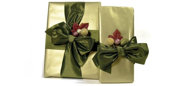 did you always save the Real ribbon on gifts? :)