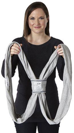 How To Wear A K Tan Tutorial Breastfeeding Baby Baby Wraps