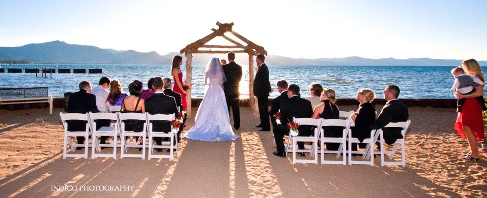Lake Tahoe Wedding Venue Toes In The Sand Lake Front Wedding Tahoe Wedding Venue South Lake Tahoe Weddings Lake Tahoe Wedding Venues