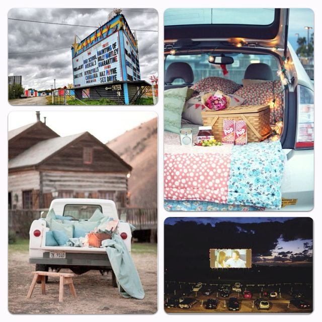 Drive In Movie Date 3 Drive In Movie Dream Dates Outdoor Movie Nights