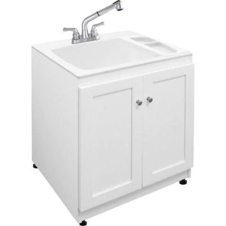slop sink cabinet laundry tubs