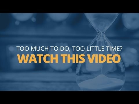 How to Combat Time Poverty | Brian Tracy - YouTube