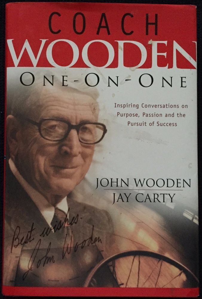 Coach Wooden One On One John Wooden Jay Carty 2003 Regal