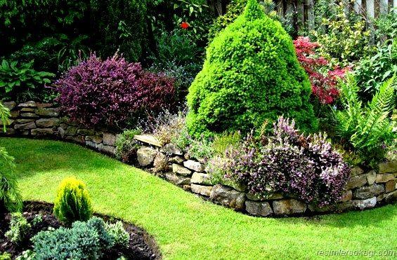 Facts Tips Ideas About Garden Design Stone Walls Garden Cottage Garden Garden Design