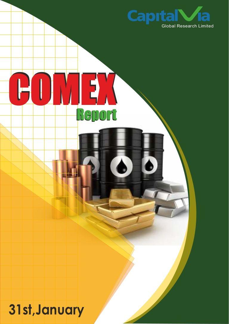 Commodity Comex Report 31st Jan,2014 by Alex Gray via