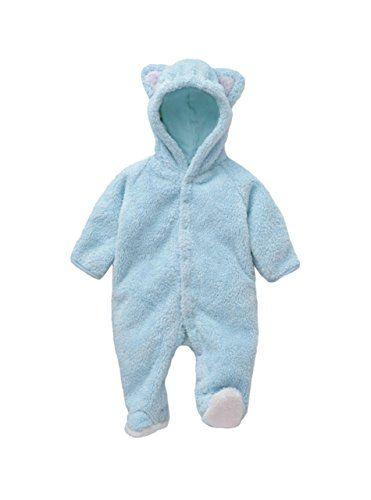 Bebone Newborn Baby Girls Overall Jumpsuit Romper Clothes