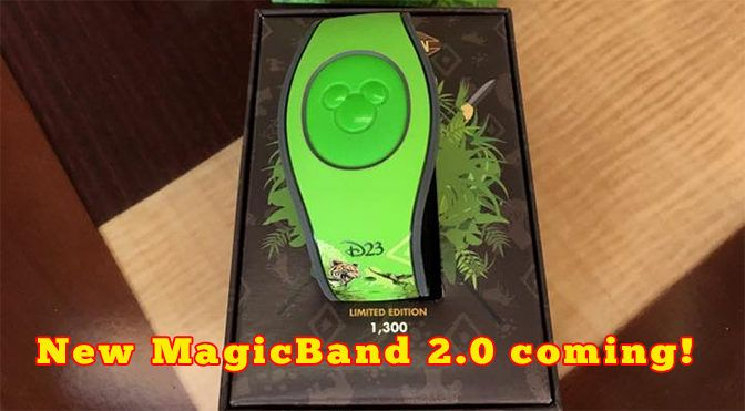 New MagicBand 2.0 coming to Walt Disney World